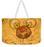 A Cat And A Ladybug Weekender Tote Bag