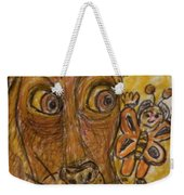 A Dog And It's Bumblebee Weekender Tote Bag
