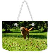 A Dogs Freedom Weekender Tote Bag