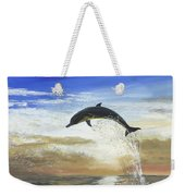 A Dolphin's Life Weekender Tote Bag