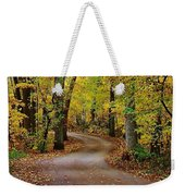 A Drive Through The Park Weekender Tote Bag