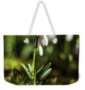 A Drop Of Spring Weekender Tote Bag