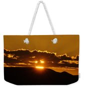 A Face In The Sunrise  Weekender Tote Bag