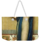 A Fair Reflection Weekender Tote Bag by John William Godward