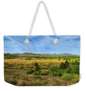 A Fall Day In The Sierras Weekender Tote Bag