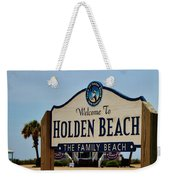 A Family Beach Weekender Tote Bag