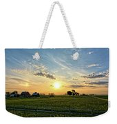 A Farmer's Morning 2 Weekender Tote Bag