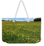 A Field Of Buttercups Weekender Tote Bag