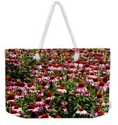 A Field Of Echinacea Weekender Tote Bag