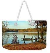 A Fishing We Will Go Weekender Tote Bag