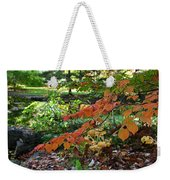 A Flame In The Forest Weekender Tote Bag
