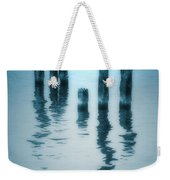 A Fleeting Blue Weekender Tote Bag