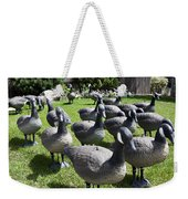 A Flock Of Decoys Weekender Tote Bag