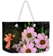 A Flower Fairy Weekender Tote Bag