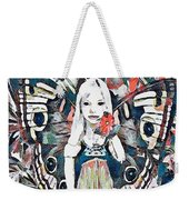 A Flower For You Weekender Tote Bag