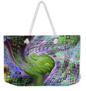 A Flower In The Sound Of Wind  Weekender Tote Bag