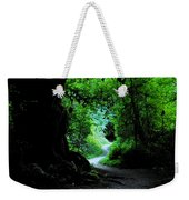 A Forest Trail Weekender Tote Bag