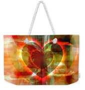 A Forgiving Heart Weekender Tote Bag