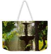 A Fountain In A St. Paul Park Weekender Tote Bag