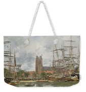 A French Port Weekender Tote Bag