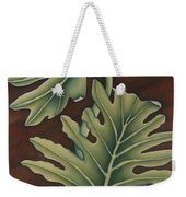 A Frog On A Philodendron Weekender Tote Bag