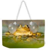 A Frog's Life Weekender Tote Bag