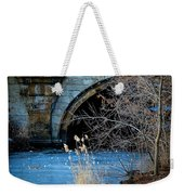 A Frozen Corner In Central Park Weekender Tote Bag by Chris Lord