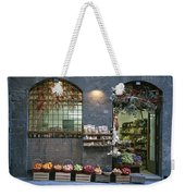 A Fruit And Vegetable Shop In Siena Weekender Tote Bag