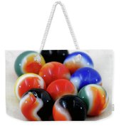 A Fun Game Of Marbles Weekender Tote Bag