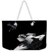 A Future Generation Space Shuttle Weekender Tote Bag