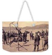 A Gander Pull 1894 Weekender Tote Bag
