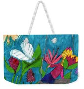 A Garden Adventure Weekender Tote Bag