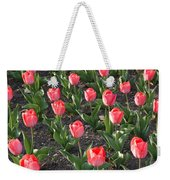A Garden Full Of Tulips Weekender Tote Bag