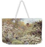 A Garden In Spring Weekender Tote Bag