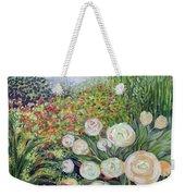 A Garden Romance Weekender Tote Bag