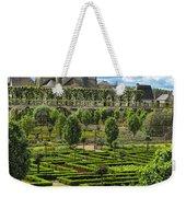 A Garden View At Chateau De Villandry Weekender Tote Bag