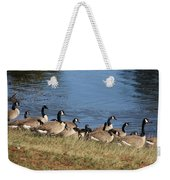 A Gathering Of Geese Weekender Tote Bag