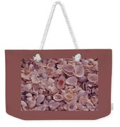 A Gathering Of Sea Shells In Sanibel Weekender Tote Bag