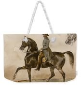 A Gentleman On Horseback With A Subsidiary Study Of The Horse's Head Weekender Tote Bag