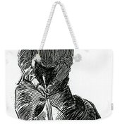 A Gibson Girl With Parasol Weekender Tote Bag
