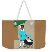 A Girl And Her Doll Weekender Tote Bag