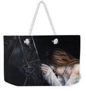 A Girl Who Loves Horses Weekender Tote Bag