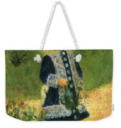 A Girl With A Watering Can 1876 Weekender Tote Bag