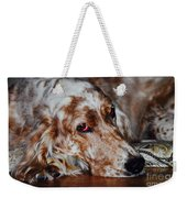 A Girl's Best Friend Weekender Tote Bag