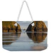 A Glossy Beach Weekender Tote Bag
