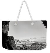 A Glimpse Of The Lighthouse Weekender Tote Bag