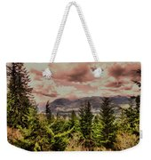A Glimpse Of The Mountains Weekender Tote Bag