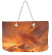 A Glorious Evening Sky Weekender Tote Bag