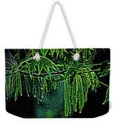 A Glow With Dew Weekender Tote Bag