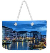 A Glowing Venice  Evening Weekender Tote Bag